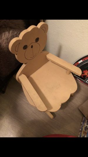 Cute little bear rocking chair kids for Sale in Kapolei, HI