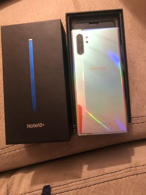Good Samsung note 10 plus 256g. Unlocked for Sale in Alexandria, VA