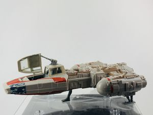 """Hasbro 1999 Star Wars Y-Wing Fighter Orange Vintage Space Ship 14"""" missing Missiles for Sale in Los Angeles, CA"""