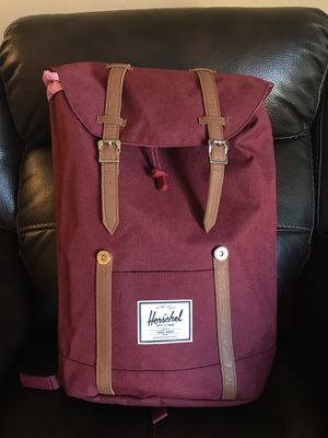 Herschel Backpack Maroon Red with inner Laptop Sleeve for Sale in Austin, TX
