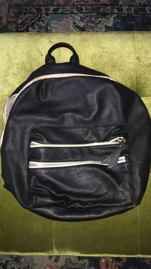 Steve Madden Black Leather Backpack for Sale in Nashville, TN