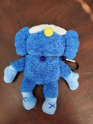 Airpod case kaws blue furry plushie for Sale in Salt Lake City, UT
