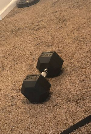 45 dumbbell for Sale in Tucson, AZ