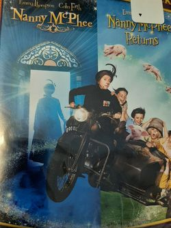 2 Movie Nanny McPhee & Nanny McPhee Returns New DVD for Sale in Kissimmee,  FL