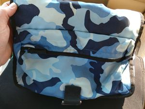 Old Navy Blue Camouflage Messenger Bag for Sale in Columbus, OH