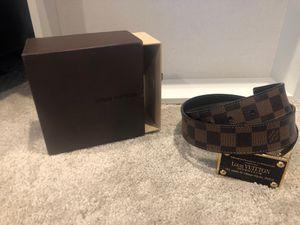 Louis Vuitton belt for Sale in Brier, WA