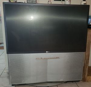 Sony projection tv 50+ inches for Sale in Humble, TX