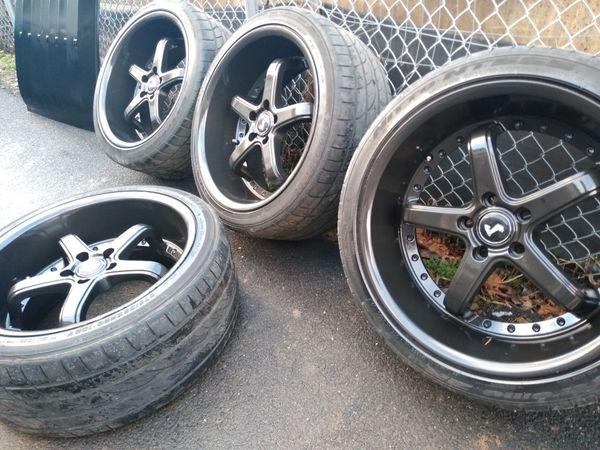 20x10 cobras 5x114 fit Mustang Nissan Toyotas acuras Infinity