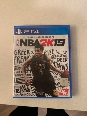 NBA 2K19 PS4 for Sale in Rochester, MN