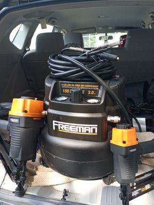 Freeman air compressor for Sale in Cleveland, OH
