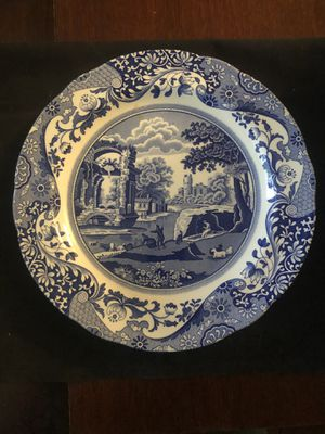 Dinner plate by Spode for Sale in Seattle, WA