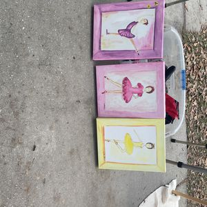 14x11 Canvas Ballerina Pictures for Sale in Riverview, FL