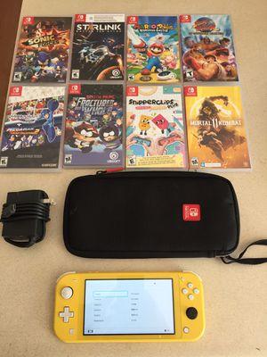 Nintendo Switch w/Games for Sale in Salt Lake City, UT