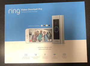 Smart Video Door bell Pro. (Brand New) for Sale in Lake Worth, FL