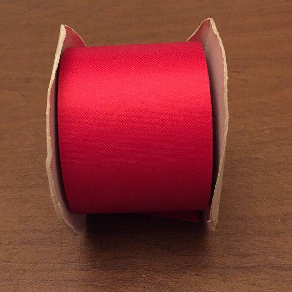 Red Acetate Ribbon
