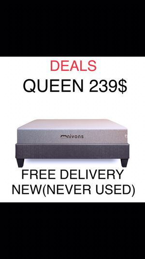"Queen Gel Memory Foam Mattress 11"" for Sale in Cumming, GA"