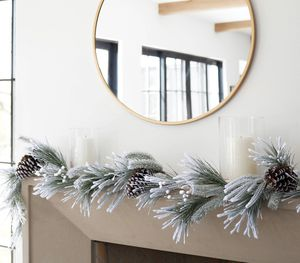 Threshold Christmas garland for Sale in Pico Rivera, CA