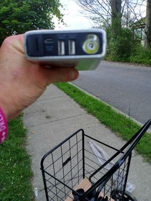 12 v car jump starter plus portable power bank for Sale in Binghamton, NY