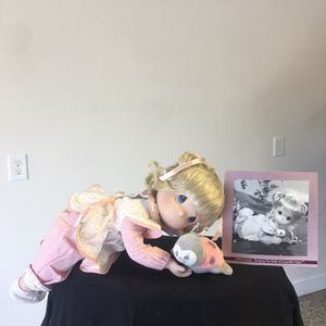 Ashton Drake collectible Precious Moments Doll for Sale in Mount Ulla, NC
