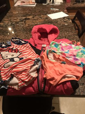 Girls 24 Months Winter Jumpsuit & 2 Bathing Suits for Sale in Howell, NJ