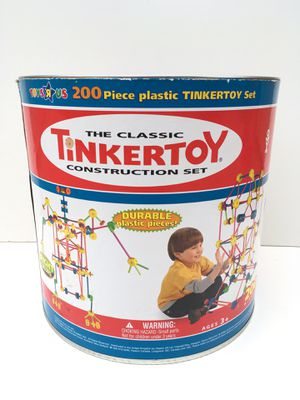 FREE WITH ANY PURCHASE Tinkertoy Construction Set Container for Sale in Rancho Cucamonga, CA