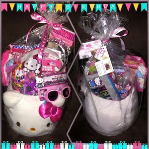 Hello Kitty Birthday Basket for Sale in Baltimore, MD