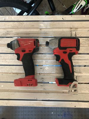 """Milwaukee 1/4"""" impact driver for Sale in Grant-Valkaria, FL"""