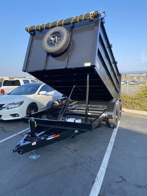 Dump Trailer 8x12x4 for Sale in Monterey Park, CA