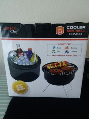 Cooler BBQ Grill Combo for Sale in Denver, CO