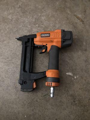 Rigid. Finish air nail gun for Sale in Oakley, CA