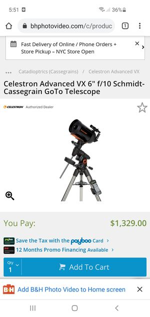 Celestron Telescope + ZWO Astrophotography Camera for Sale in Jurupa Valley, CA
