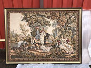 Gorgeous framed tapestry from France for Sale in Huntsville, TX