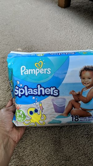 Pampers swim diapers for Sale in Fairfax, VA