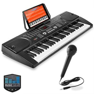 61-Key Digital Music Piano Keyboard - Portable Electronic Musical Instrument for Sale in North Las Vegas, NV