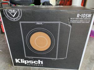 """Klipsch Reference R-10SW 10"""" 300w Powered Subwoofer—FREE SHIPPING for Sale in Jacksonville, FL"""