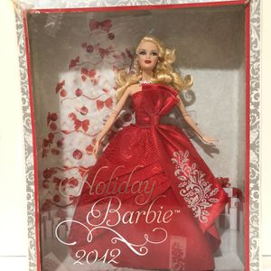 2012 Holiday Barbie for Sale in Belleville, NJ