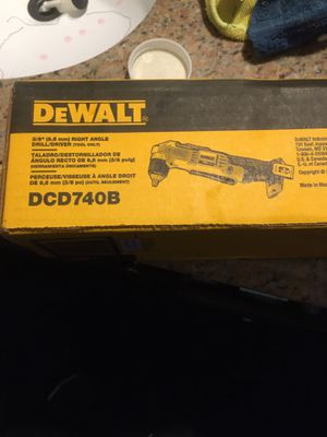 Dewalt right angle drill for Sale in San Jacinto, CA
