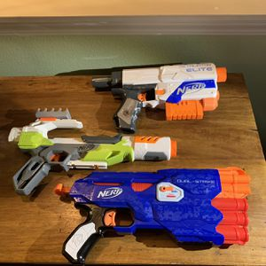 Nerf Dart Toy Gun Collection for Sale in Portland, OR