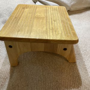 Foot stool/ wooden for Sale in Seattle, WA