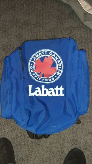 Oversize labatt blue bookbag for Sale in Akron, OH