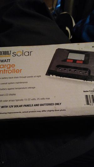 THUNDERBOLT MAGNUM 500 WATT SOLAR CHARGE CONTROLLER for Sale in Phoenix, AZ