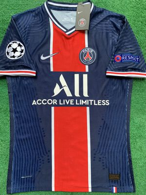 2020/21 PSG soccer jersey Neymar player version for Sale in Raleigh, NC