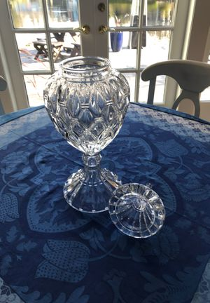 Lead crystal apothecary jar for Sale in Mercer Island, WA