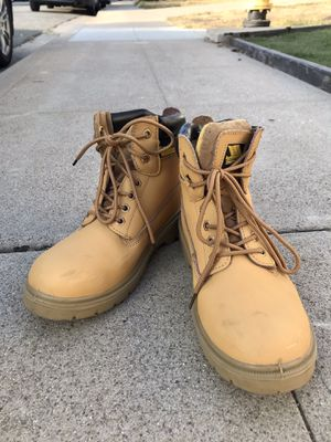 Men's EarthWorks steel toe safety boots for Sale in San Diego, CA