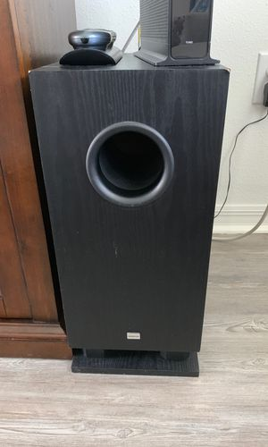 Onkyo powered subwoofer: down power subwoofer for Sale in Windermere, FL
