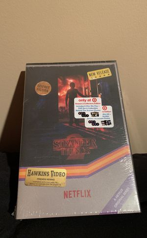 NEW Stranger Things Season 2 Blu Ray 4K TV Set for Sale in Purcellville, VA