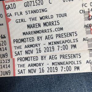 Maren Morris Tickets for Sale in Bloomington, MN