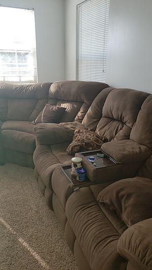 Sofa Bed set w/2 Recliners for Sale in Newport News, VA
