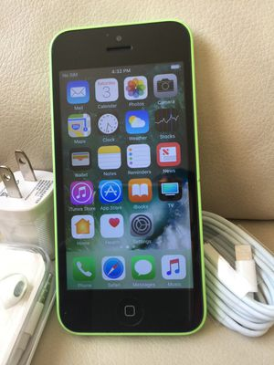 iPhone 5c : Excellent Condition , Factory unlocked. for Sale in Springfield, VA