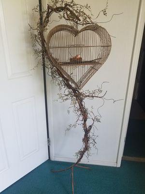 Metal heart shape home decor for Sale in Yorba Linda, CA